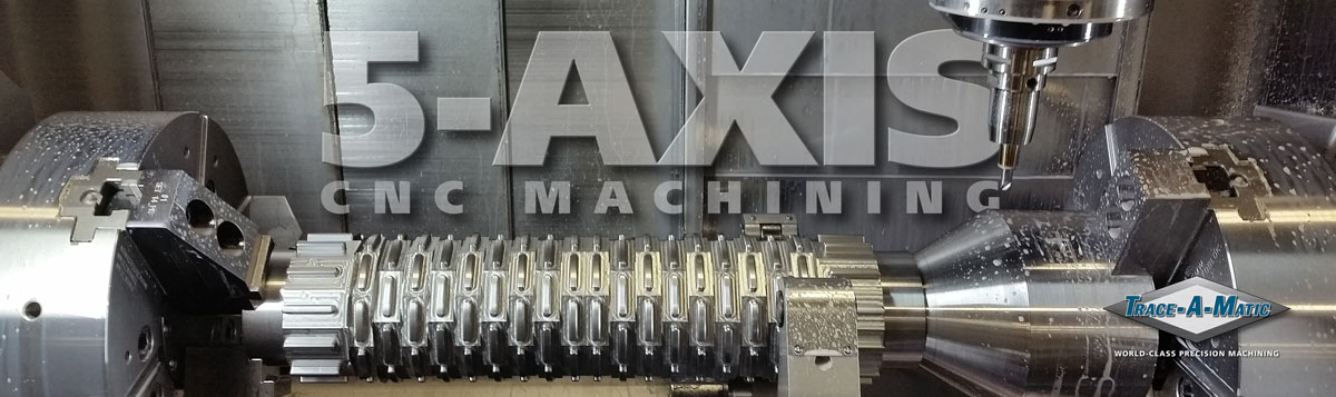 5 Axis Machining Operation