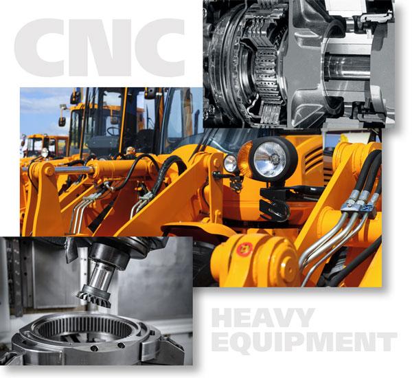 Precision CNC Heavy Equipment Machining