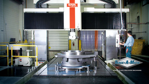 Photo of Massive Gantry Style Milling Machine