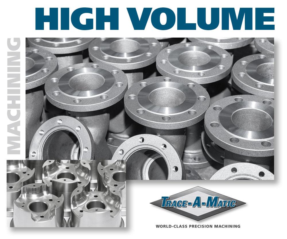 High Volume CNC Machining