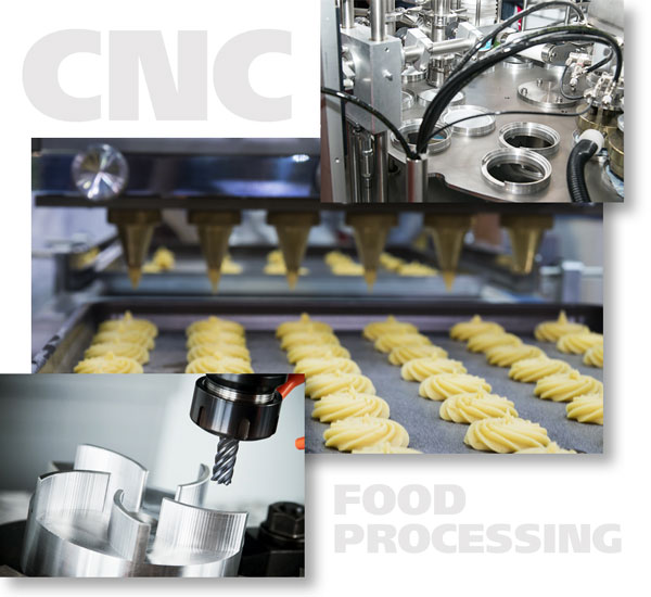 Food Processing CNC Machining