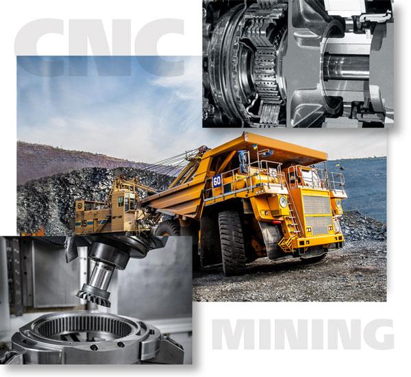 Mining Equipment Machining