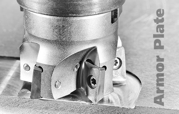 Machining Armor Plate