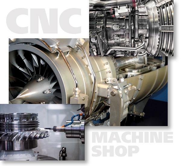 CNC Machine Shop Parts