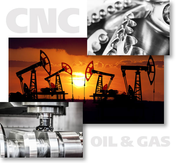 Precision Machined Oil & Gas Parts