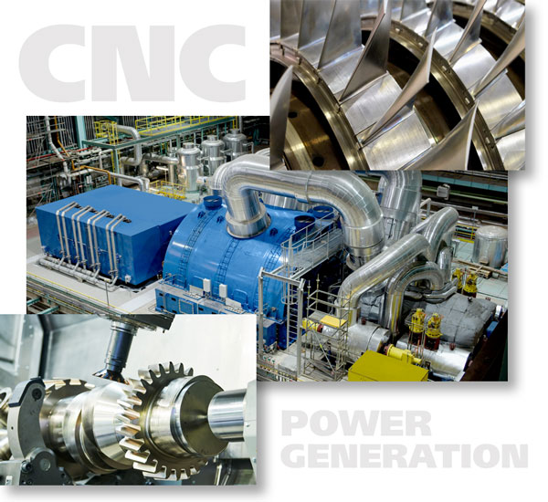 Precision Machined Power Generation Parts