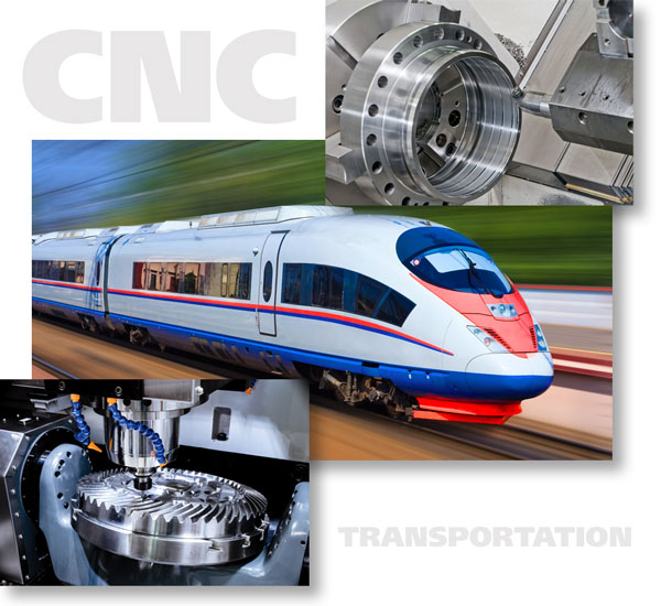Precision Machined Transportation Parts